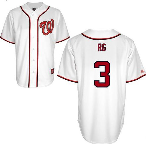 huge discount 3a88d 251a5 Nats Enquirer: Here's a custom RG3 Nationals jersey. But can ...