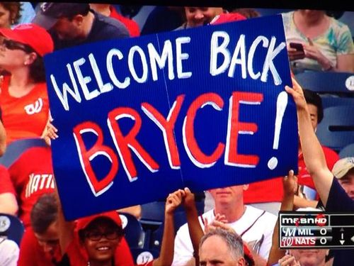 Welcome-back-bryce-sign