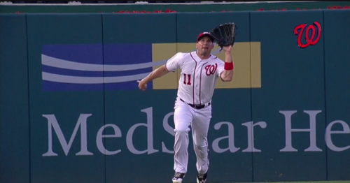 Ryan-zimmerman-first-lf-putout